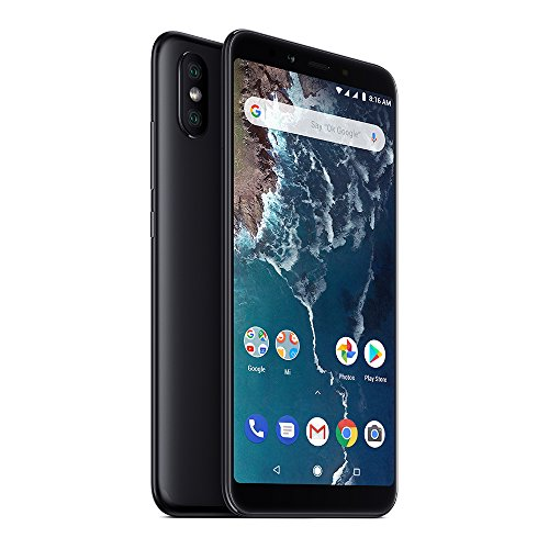 Xiaomi Mi A2 64GB + 4GB RAM, Dual Camera, LTE AndroidOne Smartphone - International Global Version (Black) by Xiaomi (Image #4)