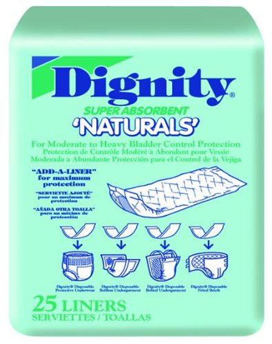 Dignity Naturals Pads Pack of 25