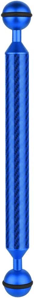 CAOMING 9 inch 22.8cm Length 20.8mm Diameter Dual Balls Carbon Fiber Floating Arm 25mm Durable Ball Diameter Color : Blue
