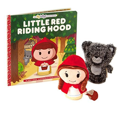 Hallmark itty bittys Little Red Riding Hood Stuffed Animal and Storybook Set