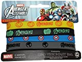 Application Avengers Assemble Mini Rubber Wristband (4 Piece)