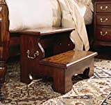 American Drew Bed Steps in Classic Antique Cherry Finish 50801 For Sale