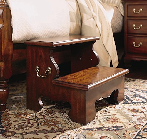Bed Steps in Classic Antique Cherry Finish 50801 American Drew Bed