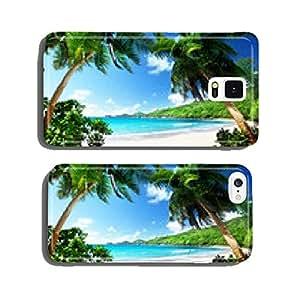beach, Mahe island, Seychelles cell phone cover case Samsung S6