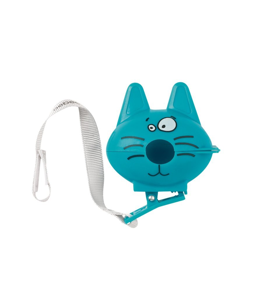 Bebeconfort 30000726 - Cadena para chupete, diseño de gato (surtido)