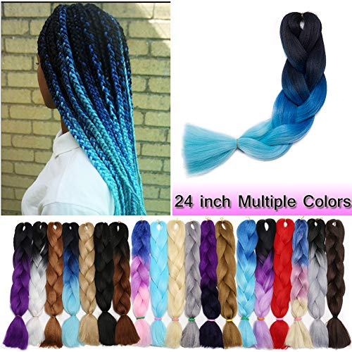 Braiding Extensions Three Tone Resistance Synthetic product image