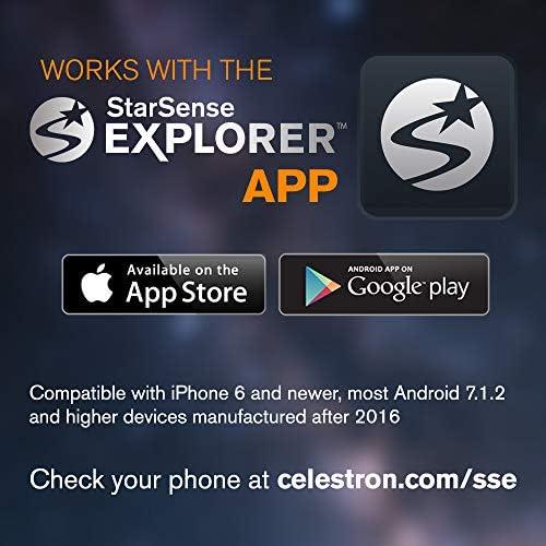 Celestron - Telescopio StarSense Explorer con aplicación para ...
