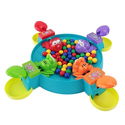 ボードゲーム feeding froggies ボードを食べるカエル 親子 おもちゃ 子供の日 贈り物 誕生日祝い 入園祝い ゲーム 創意 プレゼント ギフト 3歳 4歳 5歳 6歳