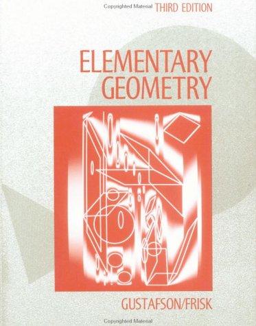 Elementary Geometry