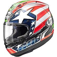 Arai Nicky 6 Corsair-X Street Motorcycle Helmet - Red/White/Blue / X-Large