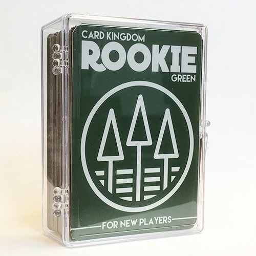 Magic the Gathering Green Rookie Deck. 60 Card Preconstructed Beginner Deck.