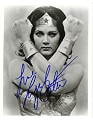 Lynda Carter in Wonder Woman Signed Autographed 8 X 10 Reprint Photo - Mint Condition