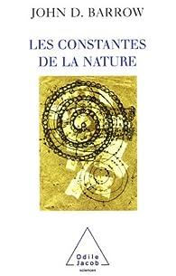 Les constantes de la nature par John D. Barrow