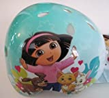 "Dora the Explorer ""Pets"" Hard Shelled Child's Helmet and Bike Bell; Ages 5+ For Sale"