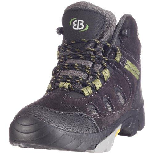 Bruetting - Trophy, Zapatos de High Rise Senderismo Unisex Niños, Gris (Anthrazit/schwarz/gruen), 28 EU