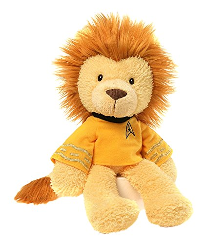 GUND Star Trek Captain Kirk Lion Stuffed Animal Plush, 13.5""