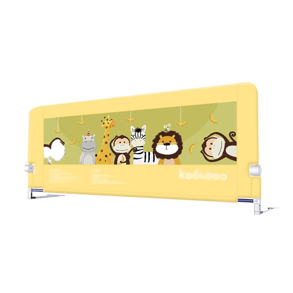 エキストラロングベッドレール、大型収納バッグ、セーフティストリップ付き幼児用ベッドガード、1面、120cm / 150cm / 180cm / 200cm (サイズ さいず : 150cm) 150cm  B07MPNK5VG