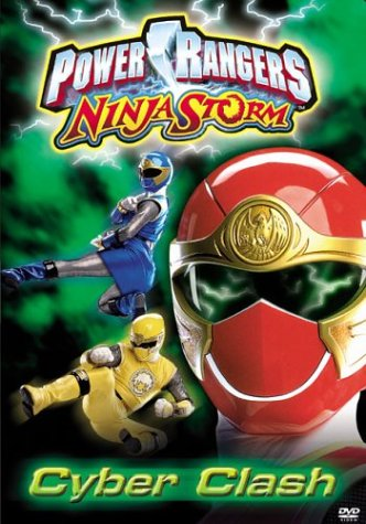 Power Rangers Ninja Storm: Cyber Clash 5 Reino Unido DVD ...
