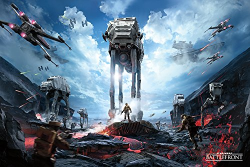 Star Wars: Battlefront - Gaming Poster / Print (War Zone) (Size: 36