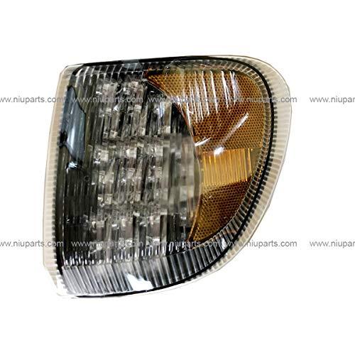 1998 International Truck - Corner Lamp LED 31 Diodes Clear/Amber - Driver Side (Fit: International 9200 9400 5900 Truck)