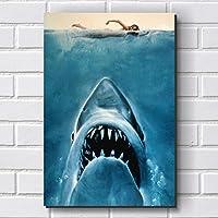 Placa Decorativa em MDF com 20x30cm - Modelo P268 - Tubarão