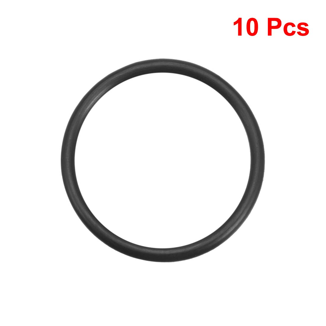 Sourcingmap juntas de sellado de anillos de goma de nitrilo de 40 mm a 75 mm de di/ámetro exterior de 3,1 mm de ancho