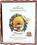 HALLMARK KEEPSAKE ORNAMENT SPEEDY STYLE CHRISTMAS LOONY TUNES