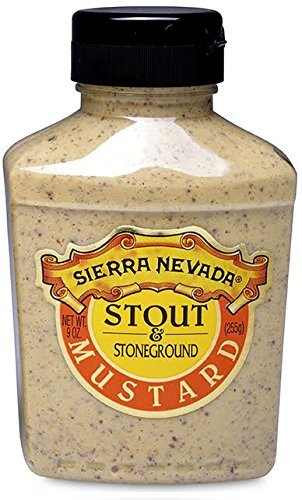 Sierra Nevada Stout & Stoneground Mustard, 9 oz Sqz (6 Pack)