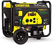 Champion Power Equipment 76533 4750/3800-Watt Dual Fuel RV Ready Portable Generator with Electric Start
