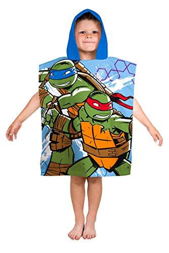 Price comparison product image Teenage Mutant Ninja Turtles Hooded Poncho Towel