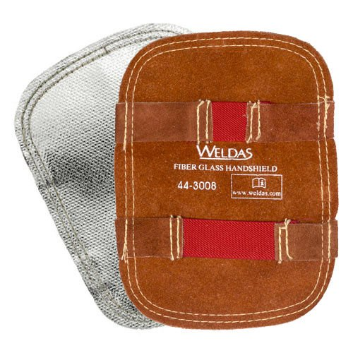 Weldas Aluminized Back Hand Pad with Kevlar Stitching - Heat Deflector