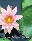Womens Prayer Journal: Nice Pink Lotus Design