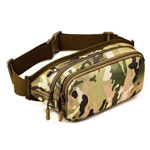 ASdf Waist Bag Men Canvas Multi-función Morning Exercise Business Package Cashier Collection Wallet Multi-Capa Oxford Cloth...