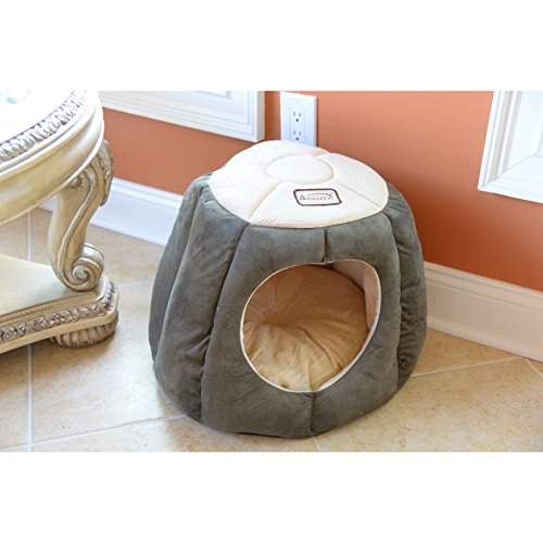 Cat Bed Home Pet Soft Warm Bed Dome Κitten Furniture Accessories Kitty Supplies (Kitty Dome Bed)