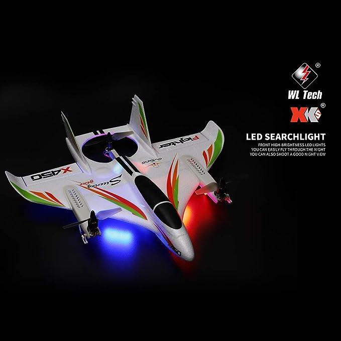 Wltoys XK RC Flugzeug 3CH 2,4G Ferngesteuerte Starrflügel Modell Flugzeug W5E3