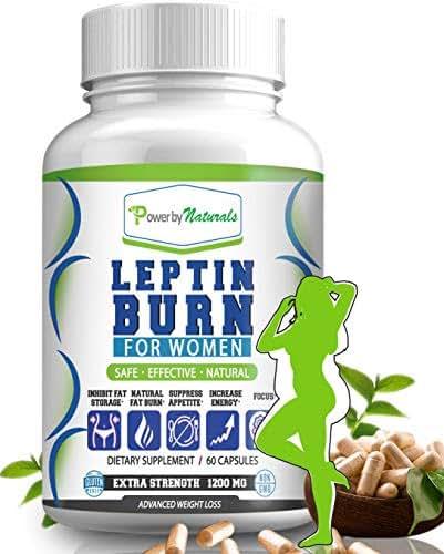 PbyN - Leptin Burn for Women - Fat Regulator, Natural Appetite Suppressant, Metabolism Booster for Weight Control Diet Pills- Leptin Supplements - 60 Capsules - Fat Burner Weight Loss Pills for Women