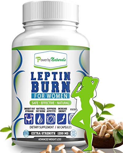 PbyN - Leptin Burn for Women - Fat Regulator for Women, Natural Appetite Suppressant, Metabolism Booster for Weight Control - Leptin Supplements - 60 Capsules Diet Pills