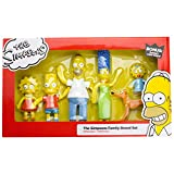 Cartoon Figurines The Simpsons Family Bendable Box Set Limited Edition