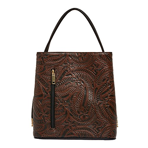 samoe-style-chocolate-brown-western-style-tooled-texture-classic-convertible-handbag