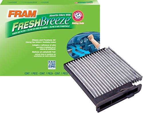 FRAM CF10545 Fresh Breeze Cabin Air Filter with Arm & Hammer