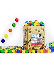 Koenig-Tom 200 x ballen ballen babyballen plastic ballen kinderballen