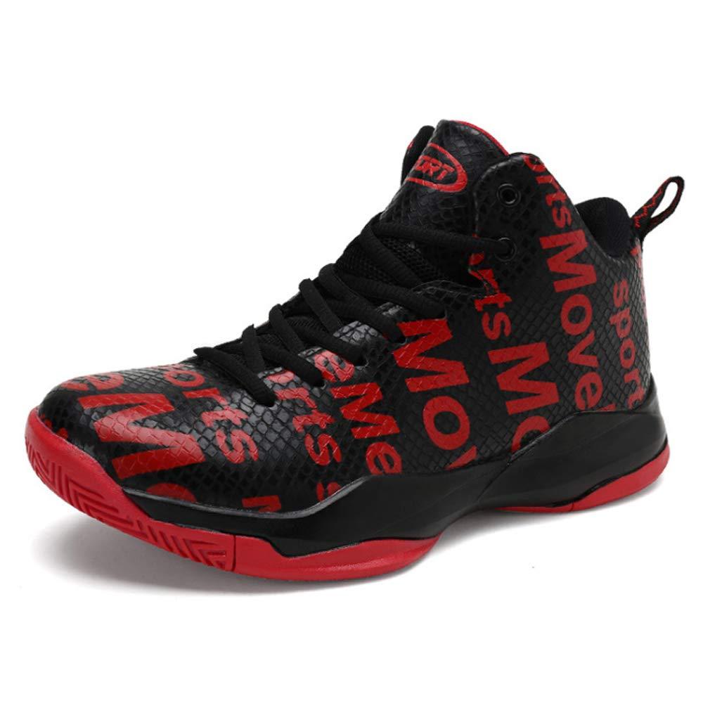 YSZDM Chaussures de Basket-Ball, Baskets Montantes antidérapantes, résistantes à l'usure,Red,424 424|Red 424|Red l'usure,Red,424 cdbc85