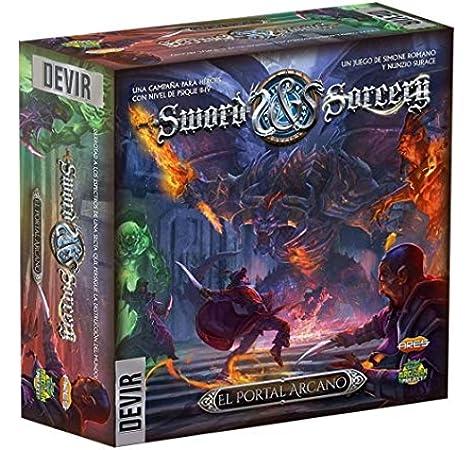 Devir- Detalles de Sword and Sorcery Complementos: Portal Arcano (BGSISPORTA): Amazon.es: Juguetes y juegos