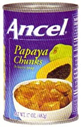Goya Foods Ancel Papaya Chunks, 34-Ounce