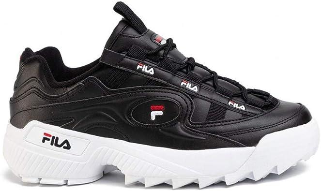 Fila, Formación D M 1010906-13S Zapatillas para Hombre 1010906-13S Negro UE (11.5 Reino Unido), 46 EU: Amazon.es: Zapatos y complementos