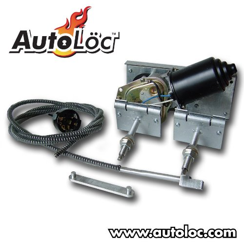 AutoLoc Power Accessories 9864 Heavy Duty Power Windshield Wiper Kit with Switch/Harness by AutoLöc