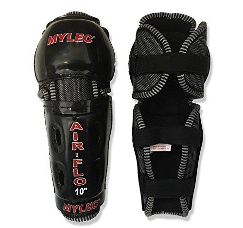 Mylec Air Flow Roller Hockey Shin Guards (10