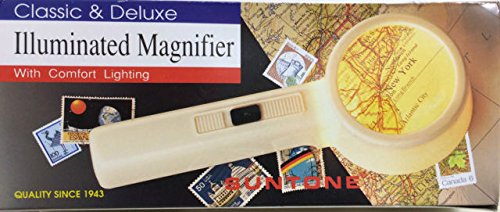 - Classic & Deluxe Illuminated Magnifier With Comfort Lighting