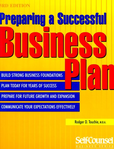 Preparing a Successful Business Plan (Self-Counsel Business Series)