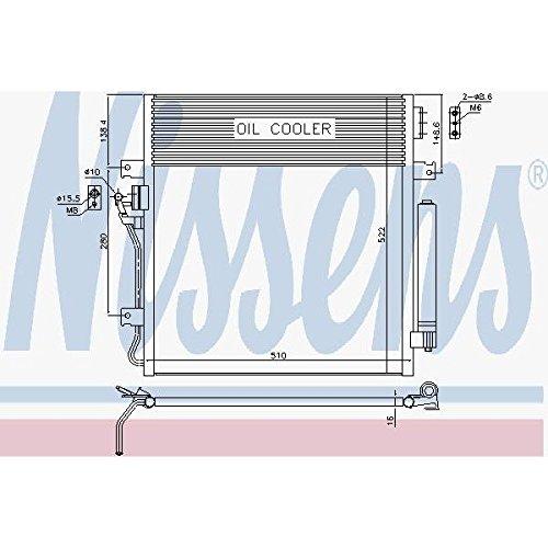 Nissens 940461 Clima condensatori